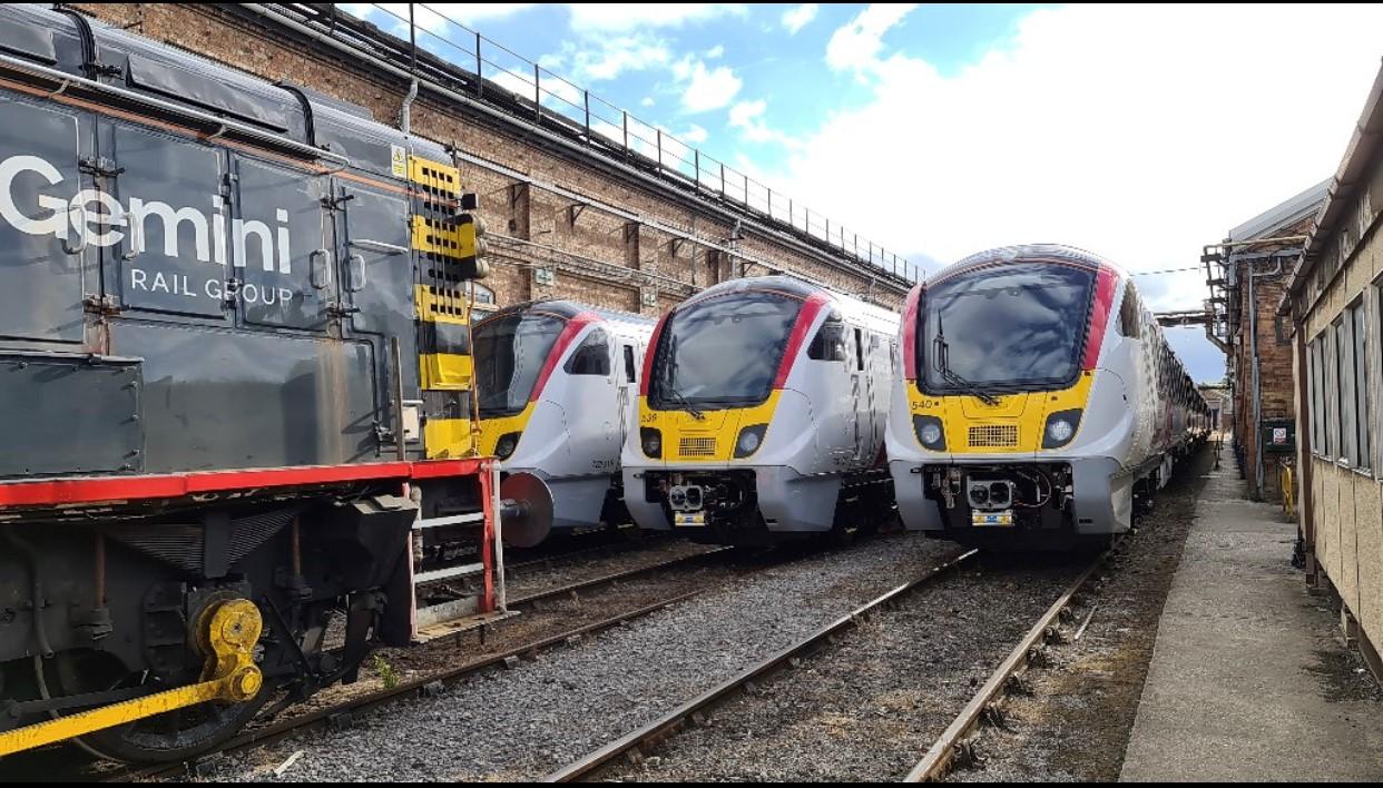 Trains image for website